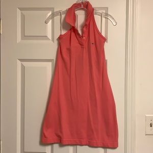 Lacoste Pink collared dress